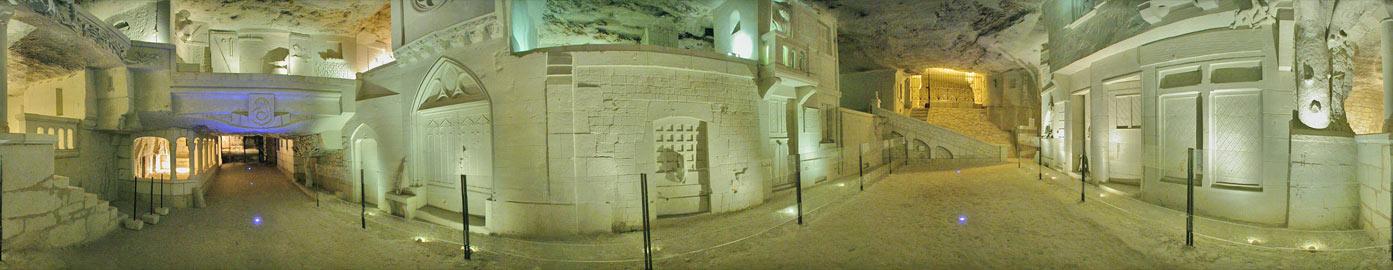 La ville souterraine à BOURRÉ