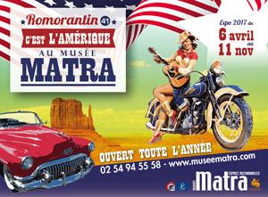Musée Matra à Romorantin-Lanthenay